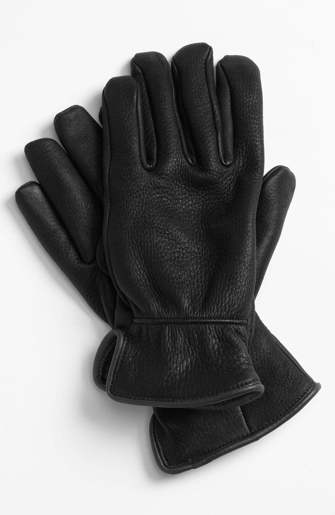 Alternate Image 1 Selected - Polo Ralph Lauren Deerskin Gloves