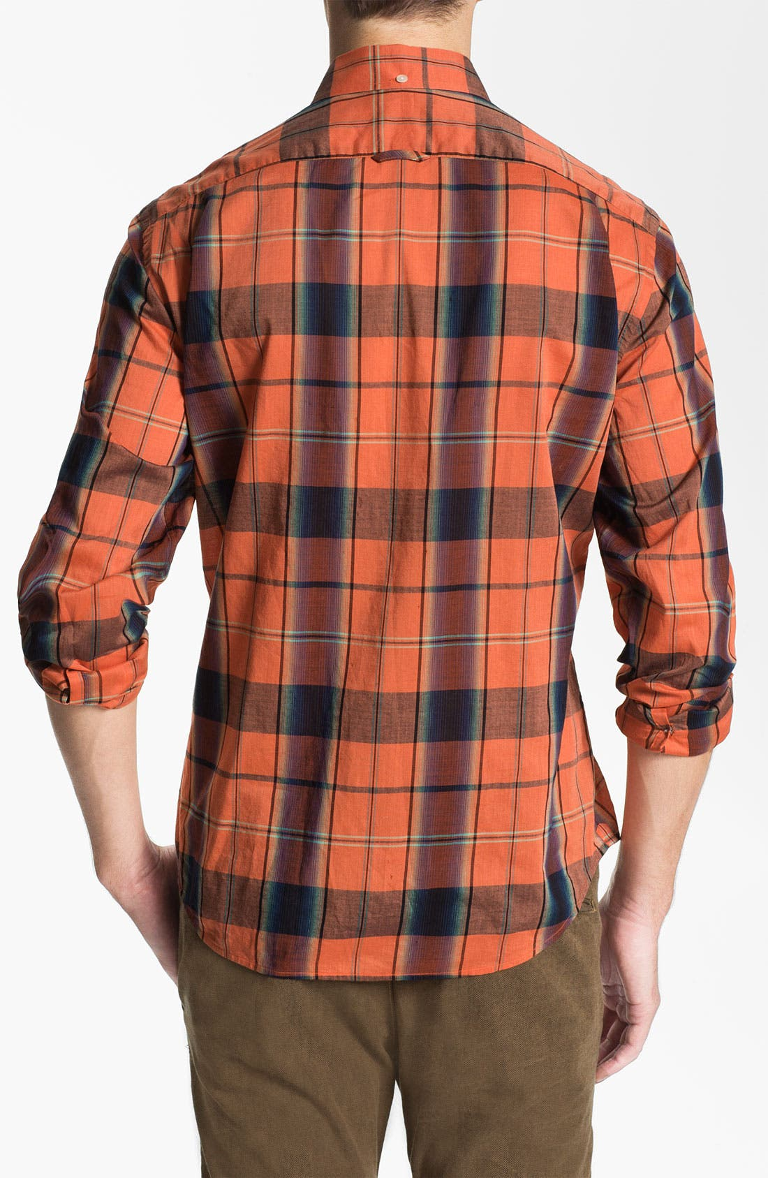 Alternate Image 2  - Vince Bright Plaid Woven Shirt
