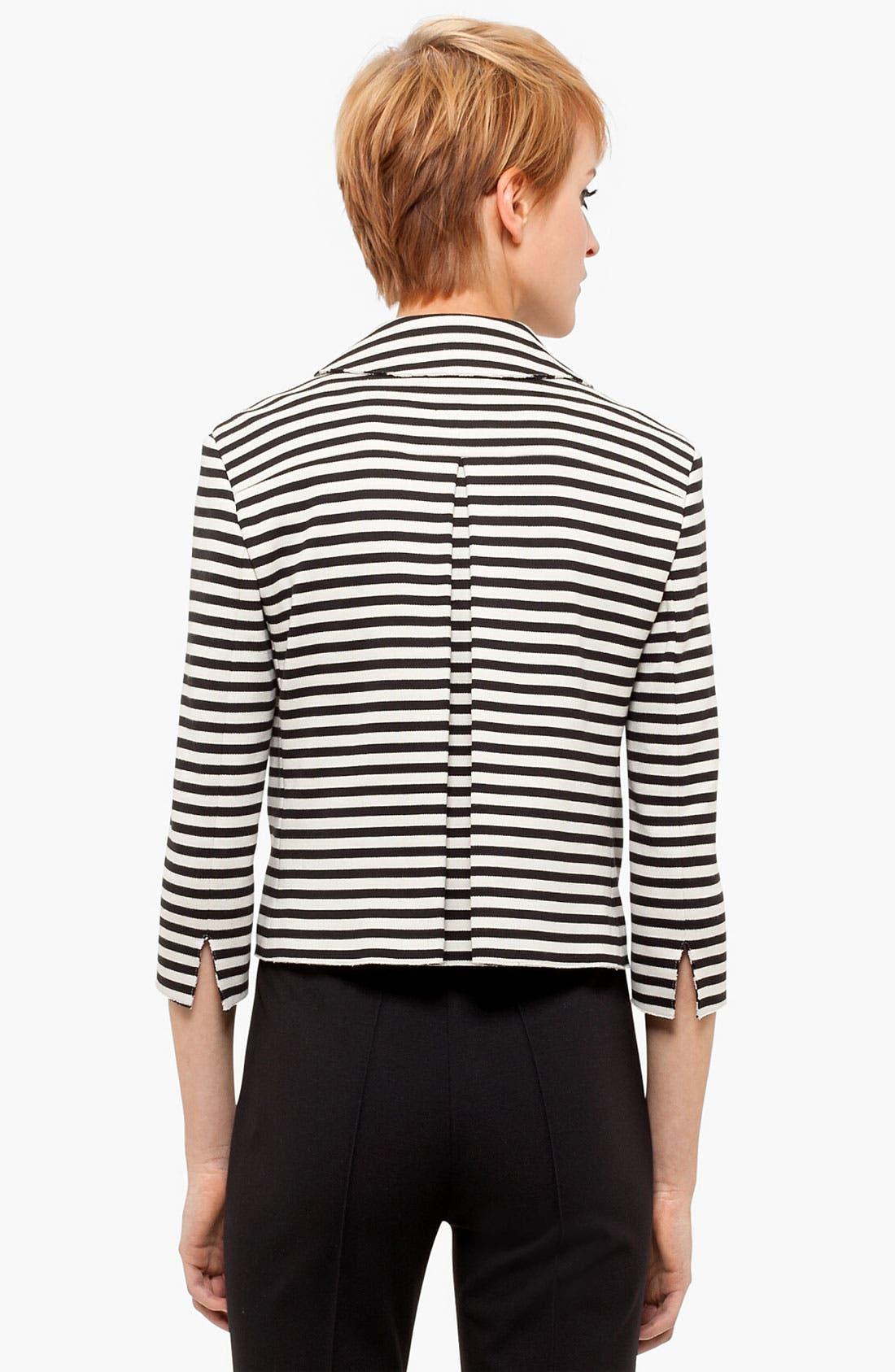 Alternate Image 2  - Akris punto Crop Cotton Jacket