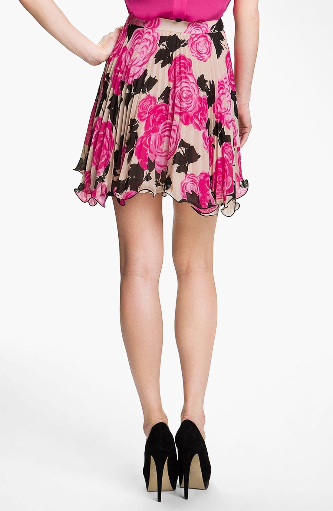 Alternate Image 2  - Milly Print Flare Skirt