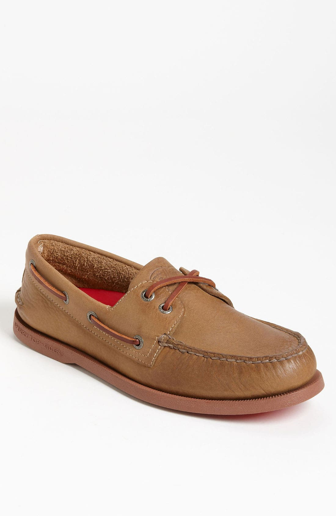 Alternate Image 1 Selected - Sperry Top-Sider® 'Authentic Original 2-Eye' Burnished Boat Shoe