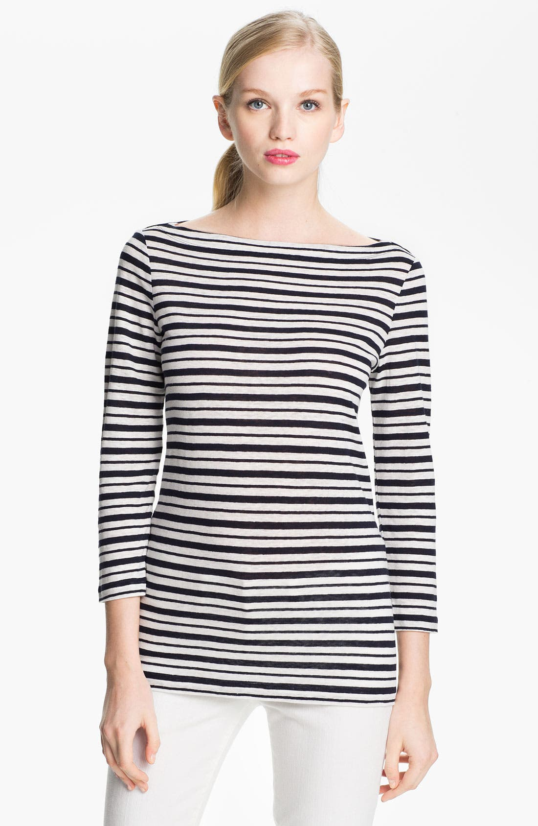 Alternate Image 1 Selected - Tory Burch 'Lori' Linen Top