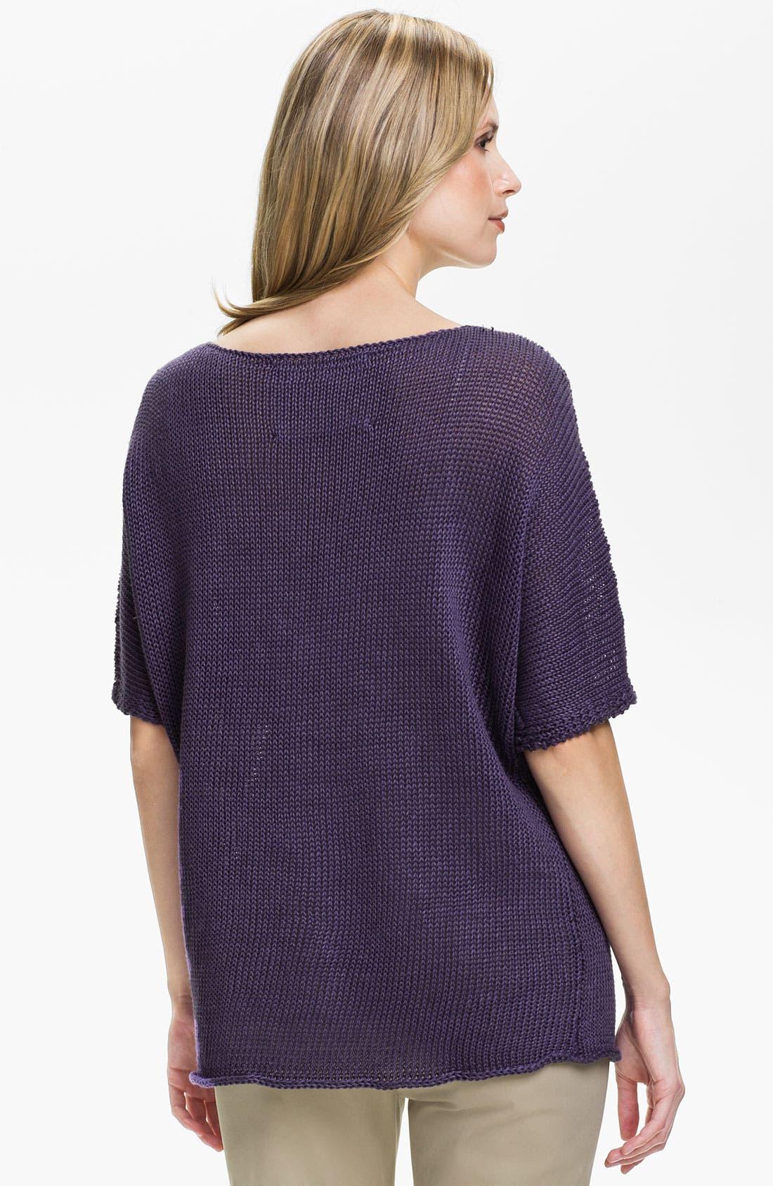 Alternate Image 2  - Lafayette 148 New York Elbow Sleeve Dolman Sweater