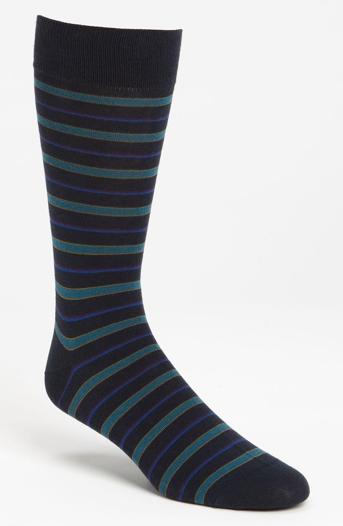 Alternate Image 1 Selected - Pantherella Stripe Socks