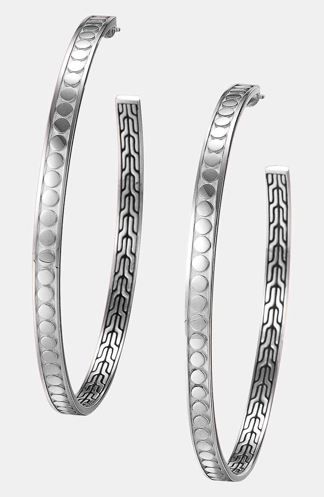 Alternate Image 1 Selected - John Hardy 'Dot' Large Hoop Earrings