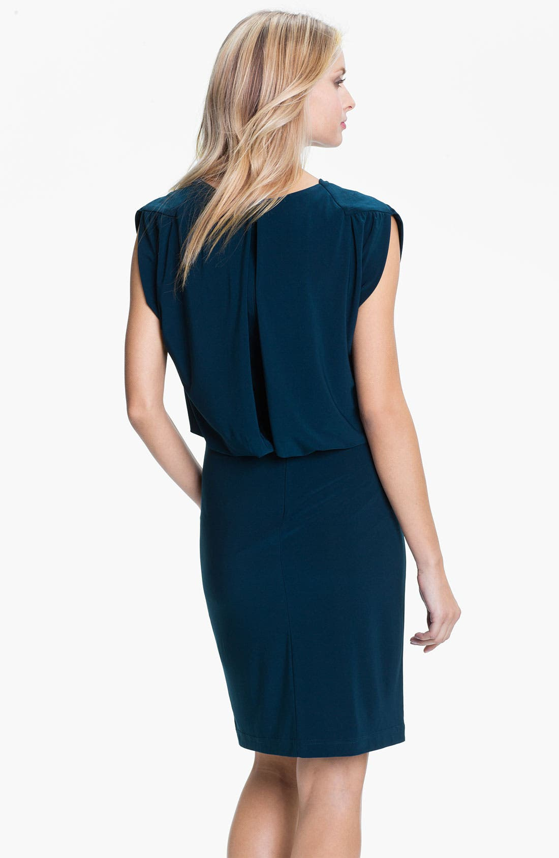 Alternate Image 2  - Adrianna Papell Draped Jersey Dress