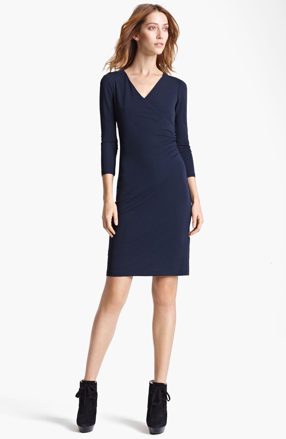 Alternate Image 1 Selected - Burberry London Crepe Jersey Dress