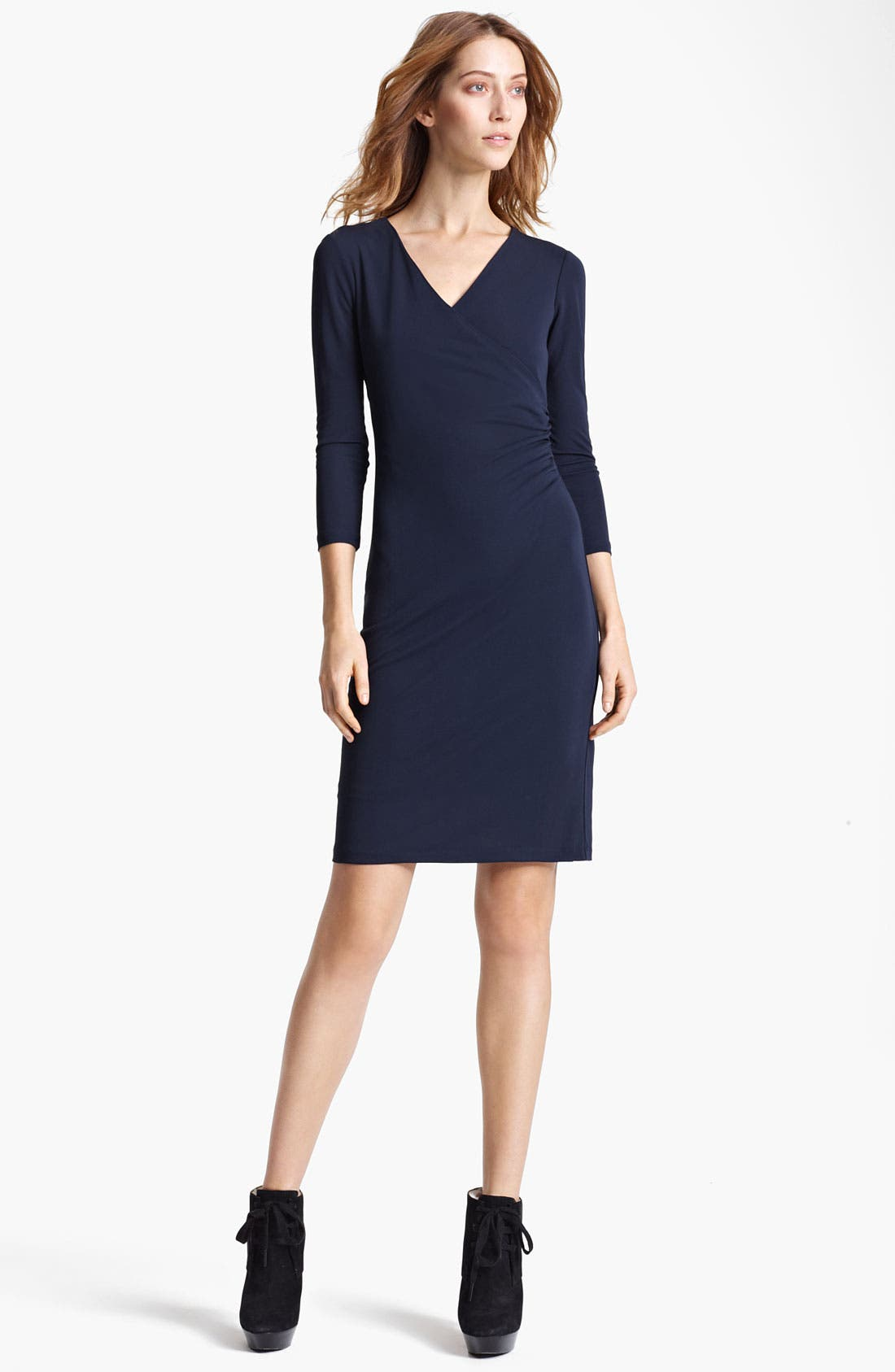 Main Image - Burberry London Crepe Jersey Dress