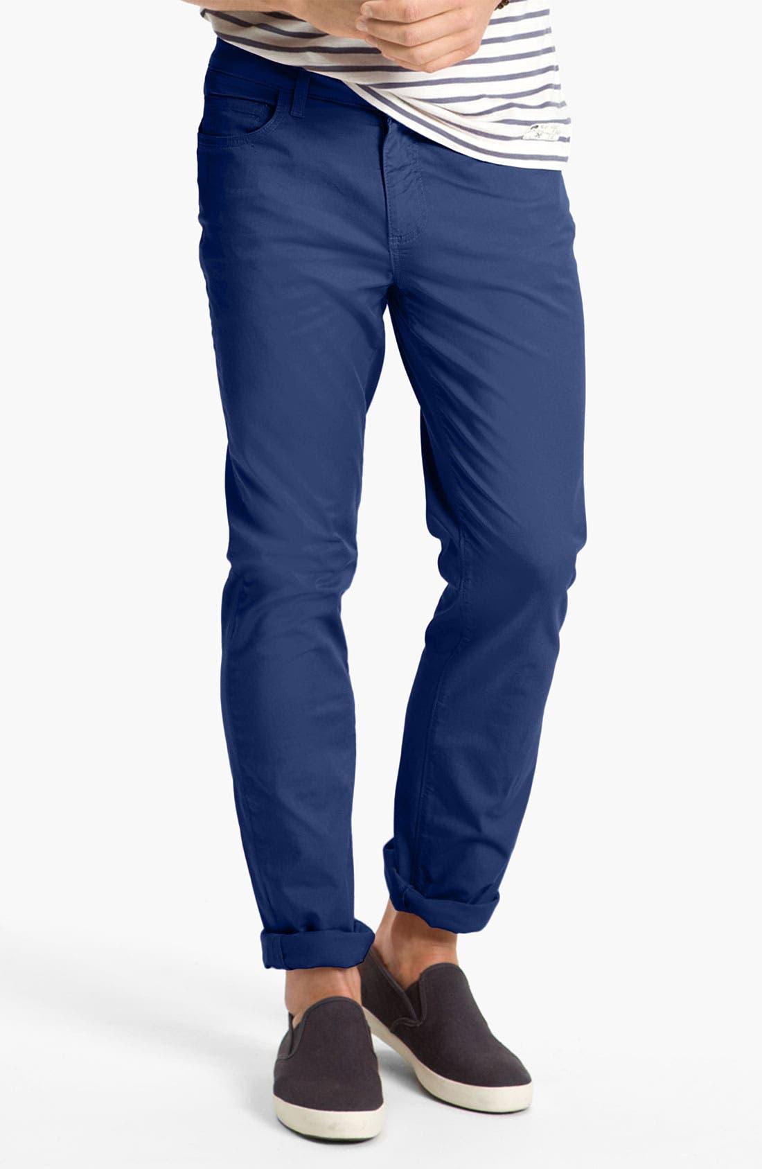 Alternate Image 2  - PAIGE 'Normandie' Slim Straight Leg Pants