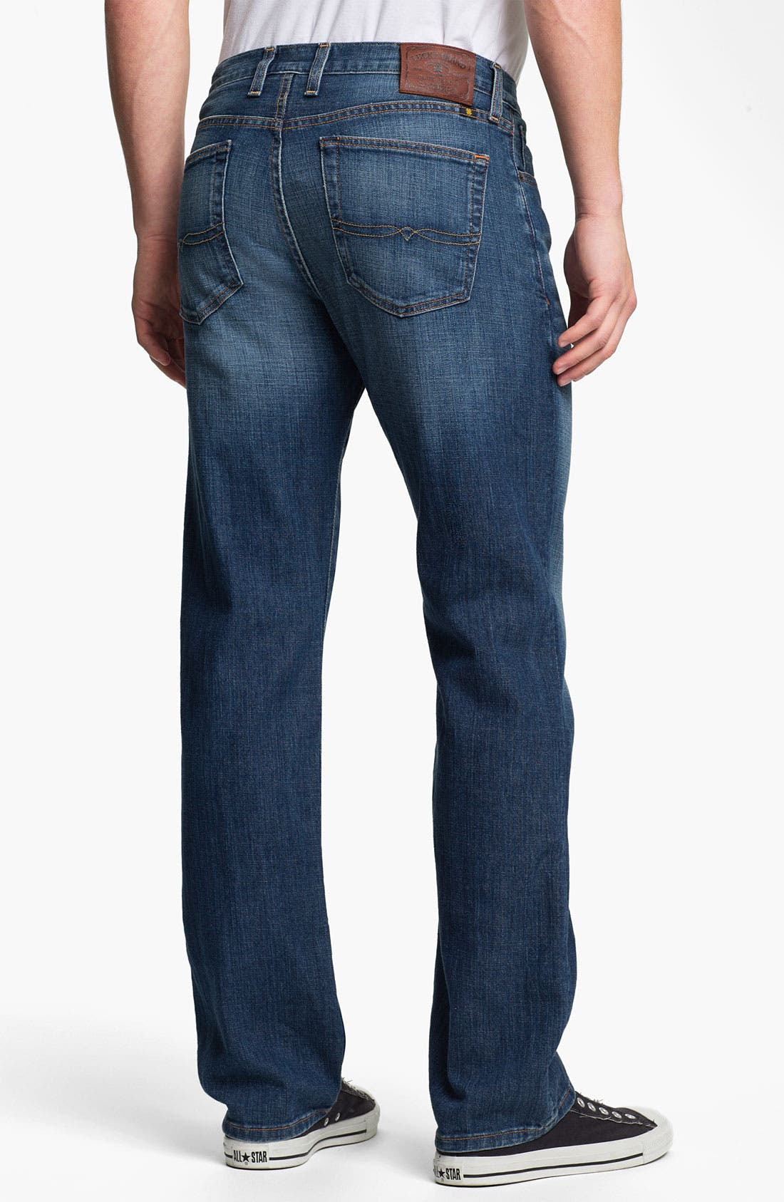 Alternate Image 2  - Lucky Brand '329 Classic' Straight Leg Jeans (Zenith Point)