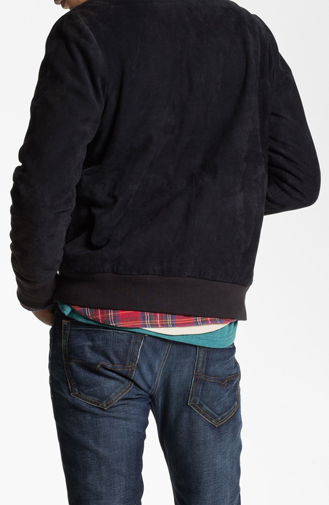 Alternate Image 2  - G-Star Raw 'Marc Newson' Suede Bomber Jacket