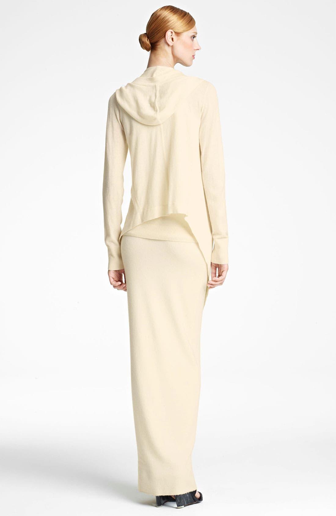 Alternate Image 3  - Donna Karan Collection 'First Layer' Cashmere Blend Maxi Skirt