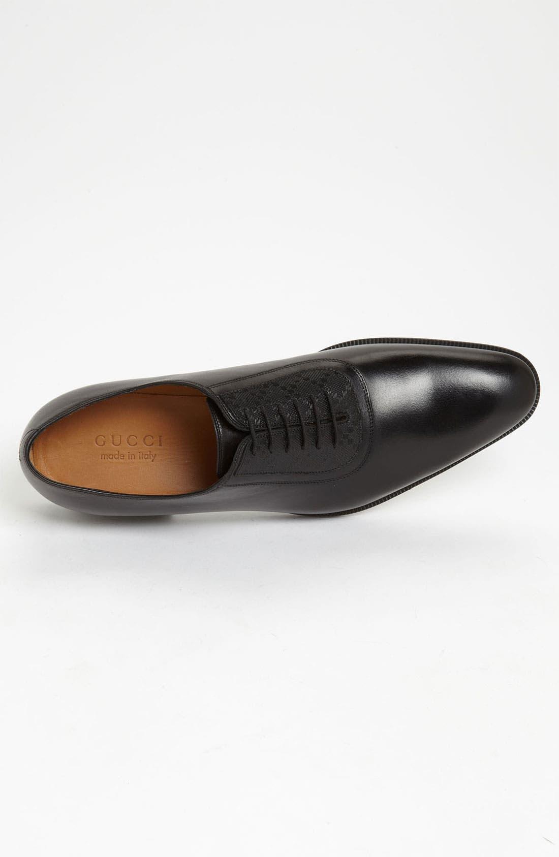 Alternate Image 3  - Gucci 'Noort' Plain Toe Oxford