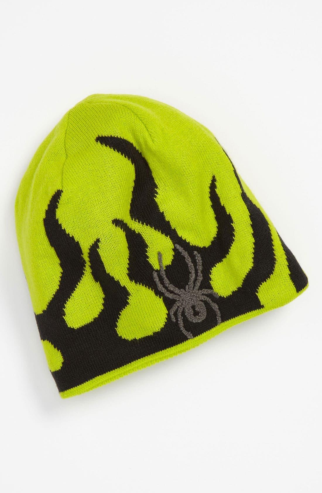 Alternate Image 1 Selected - Spyder 'Mini Fire' Hat (Little Boys)