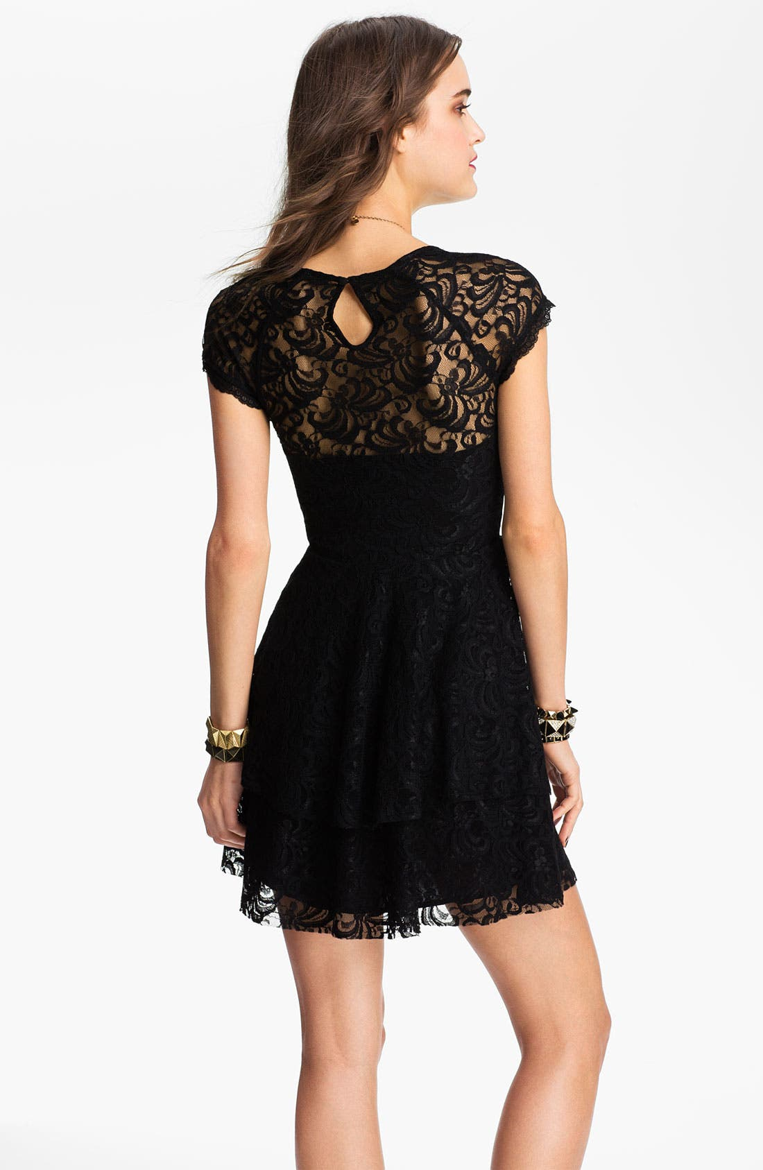 Alternate Image 2  - Free People Tiered Lace Dress