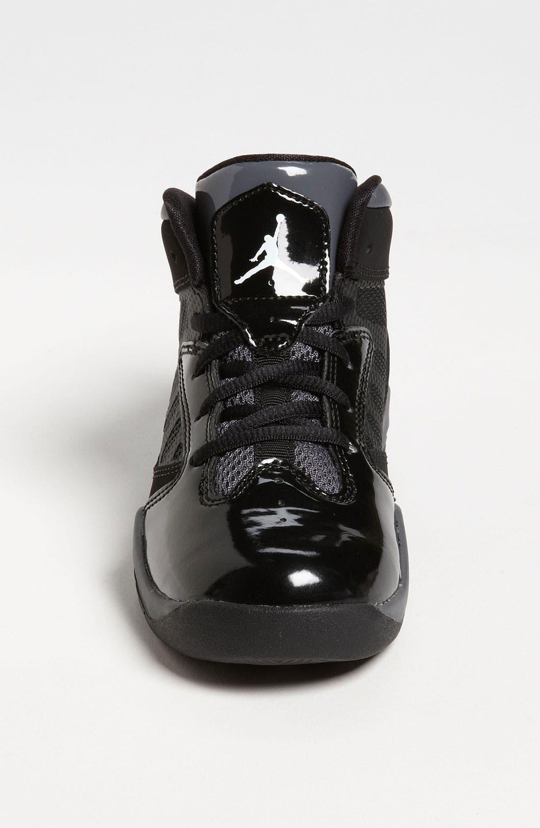 Alternate Image 3  - Nike 'Jordan Flight Team 11' Basketball Shoe (Toddler & Little Kid)