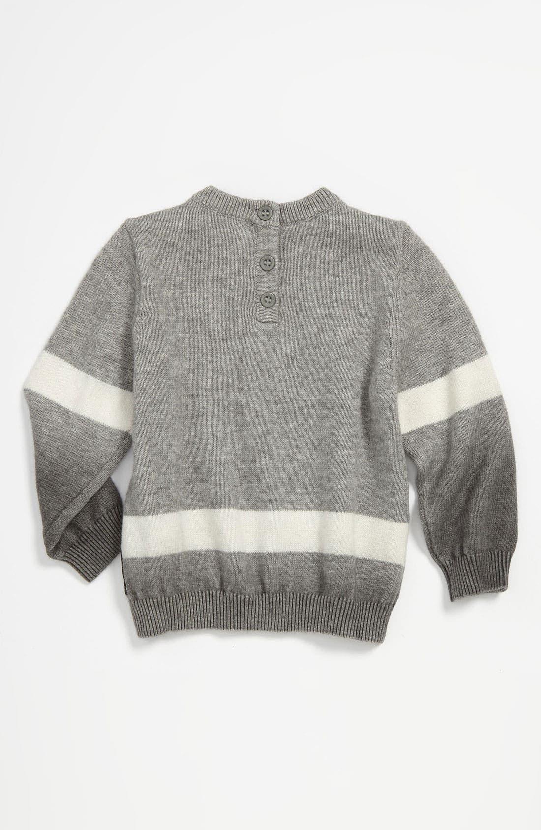Alternate Image 2  - Armani Junior Ombré Sweater (Infant)