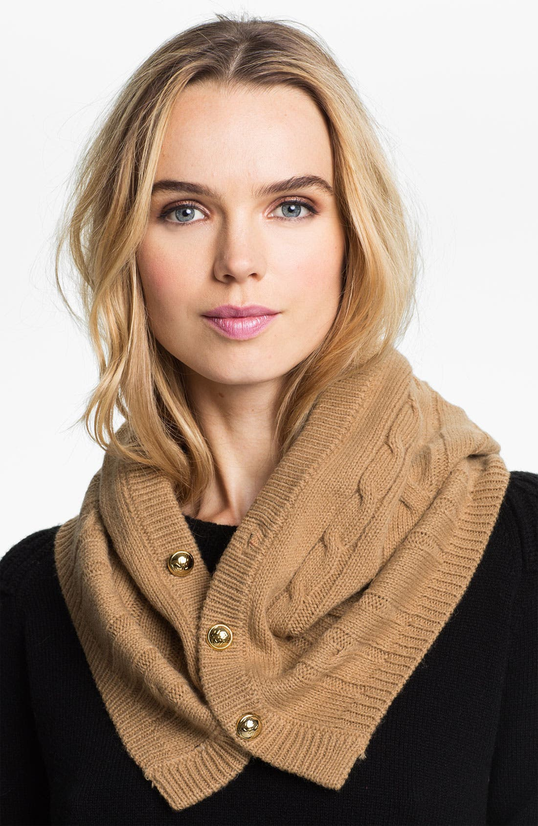 Alternate Image 1 Selected - MICHAEL Michael Kors Button Front Snood