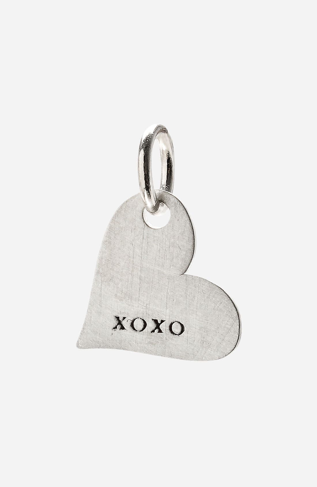 Main Image - Dogeared 'Create - Mantra' Heart Charm