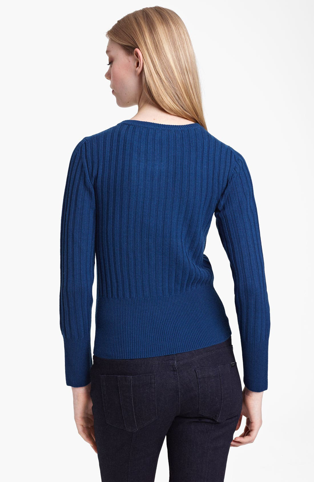 Alternate Image 2  - Burberry Brit Wool Sweater (Online Exclusive)