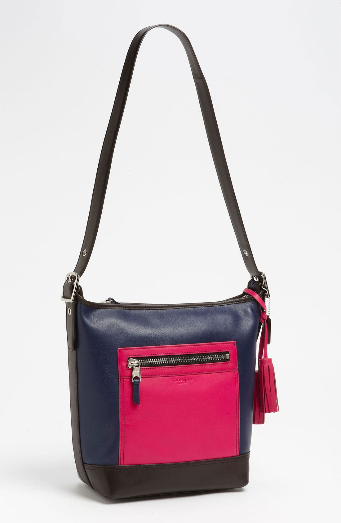 Main Image - COACH Colorblock Leather Duffel