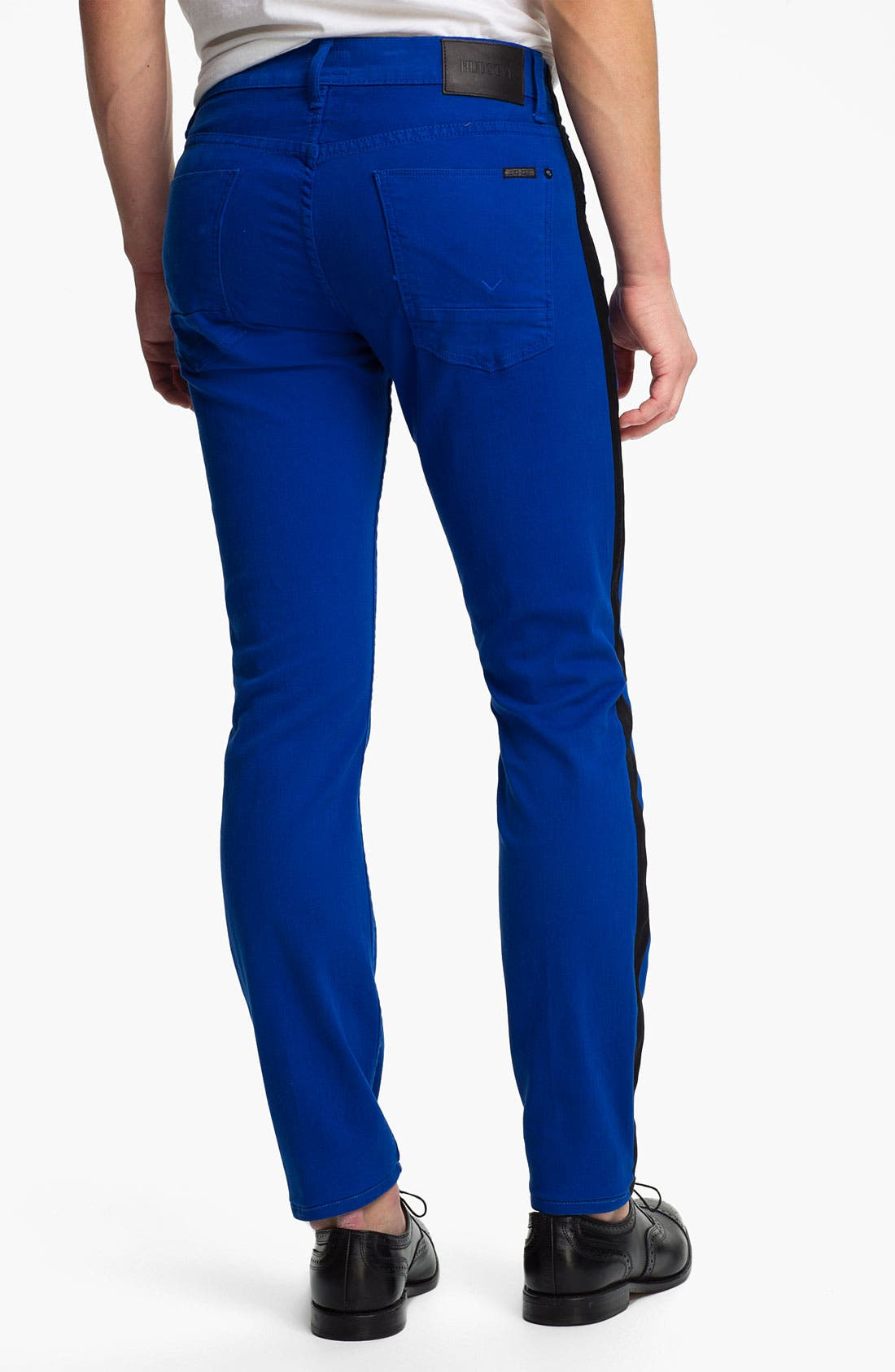 Alternate Image 1 Selected - Hudson Jeans 'Lou' Slim Straight Leg Jeans (Blue My Mind)