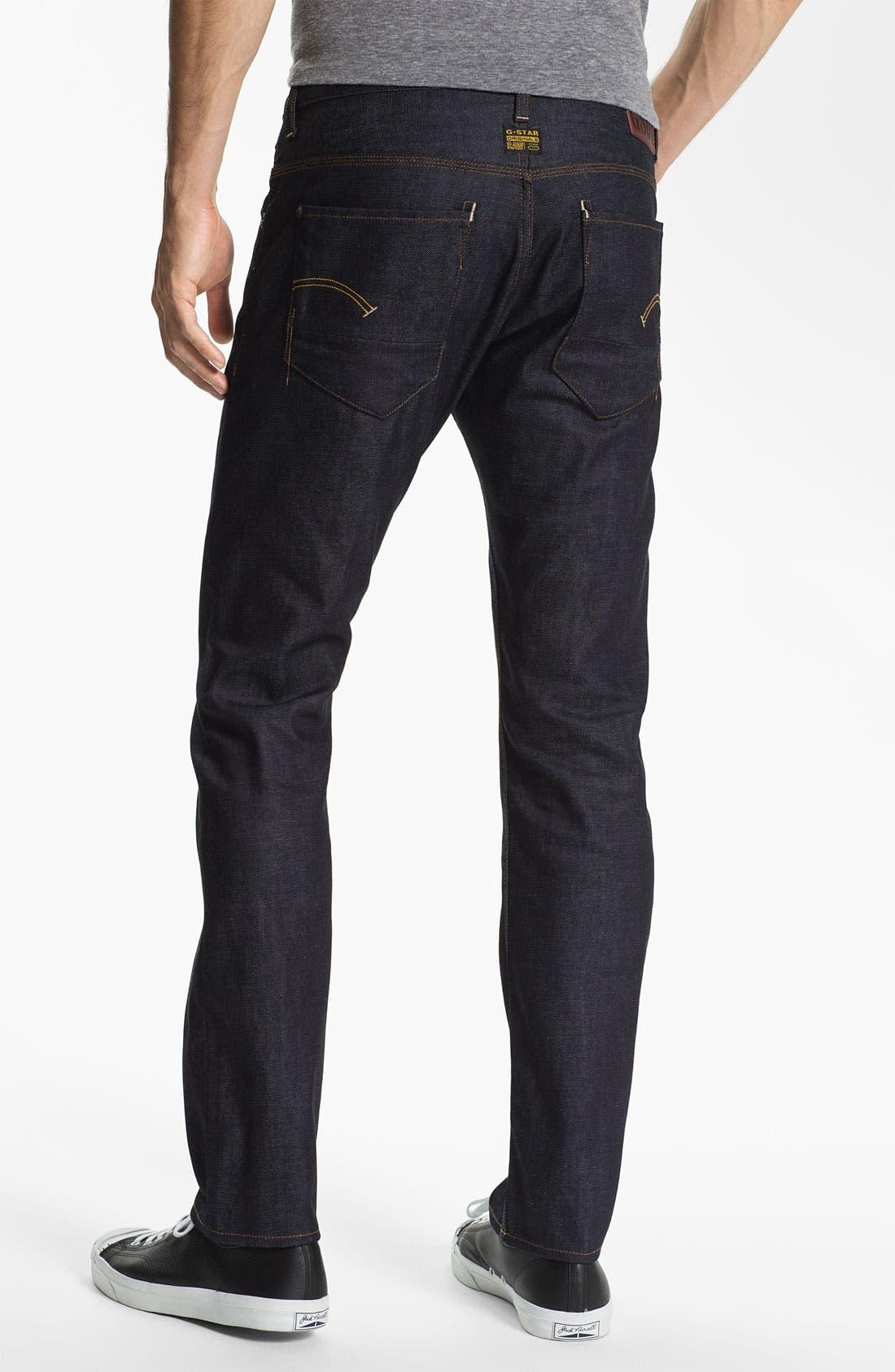 Alternate Image 1 Selected - G-Star Raw 'New Radar' Slim Straight Leg Jeans (Rigid Raw)