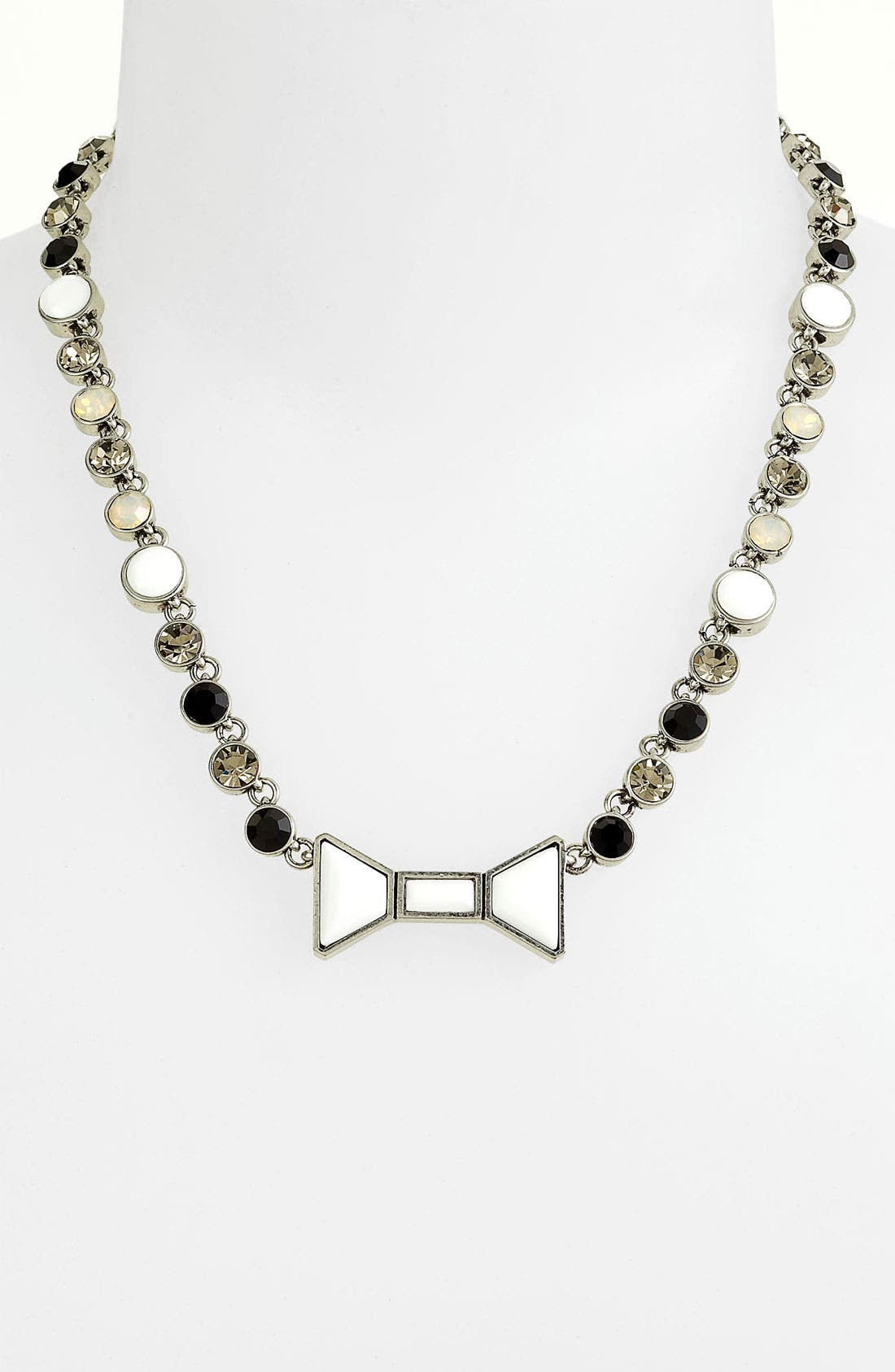 Main Image - MARC BY MARC JACOBS 'Polka Dot' Bow Collar Necklace