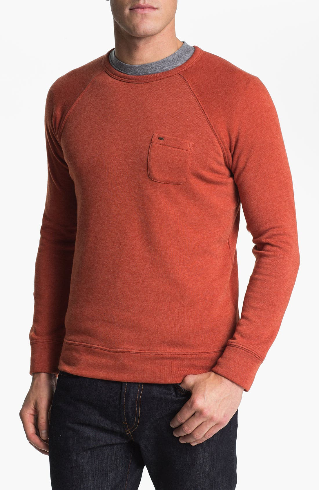 Alternate Image 1 Selected - Obey 'Lofty Creature Comforts' Crewneck Sweatshirt