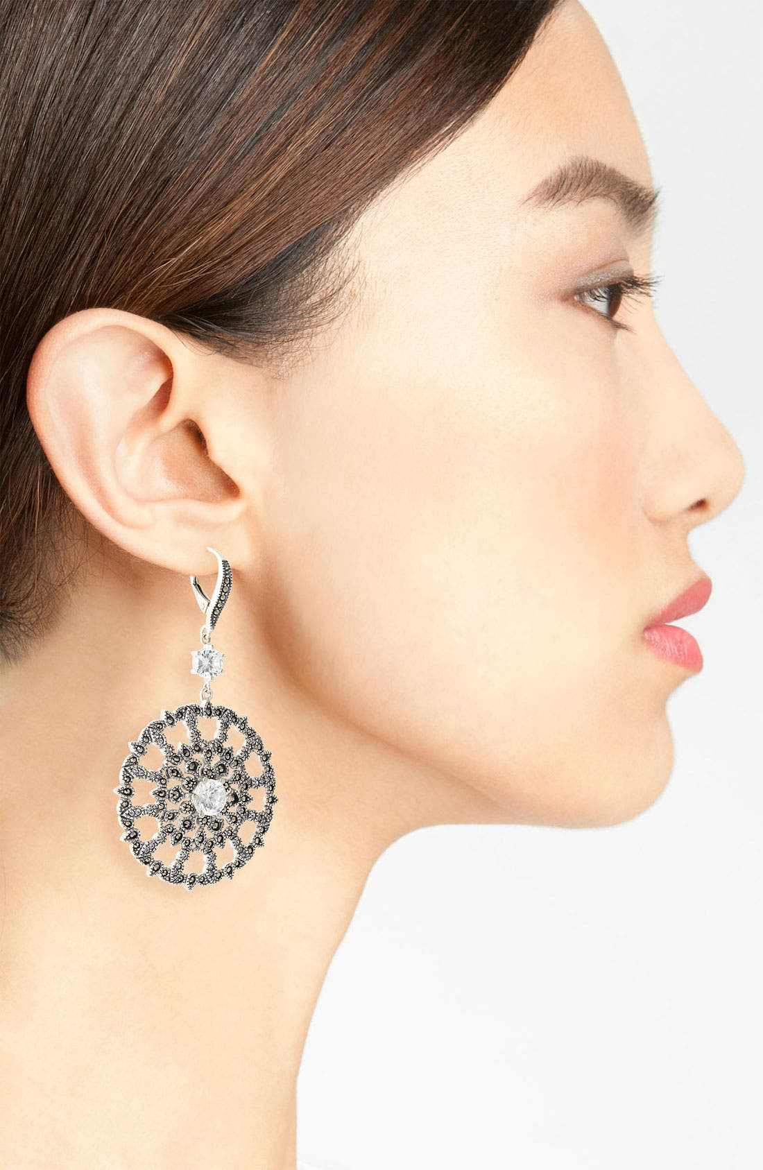 Alternate Image 2  - Judith Jack 'Glamour' Drop Earrings