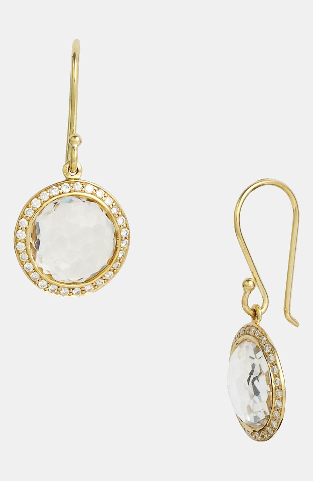 Alternate Image 1 Selected - Ippolita 'Rock Candy - Mini Lollipop' Diamond & 18k Gold Earrings