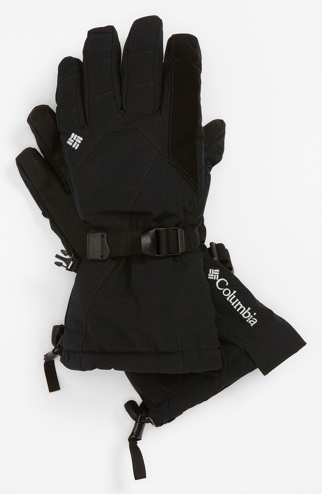 Alternate Image 1 Selected - Columbia 'Whirlibird II' Omni-Tech® Waterproof Gloves