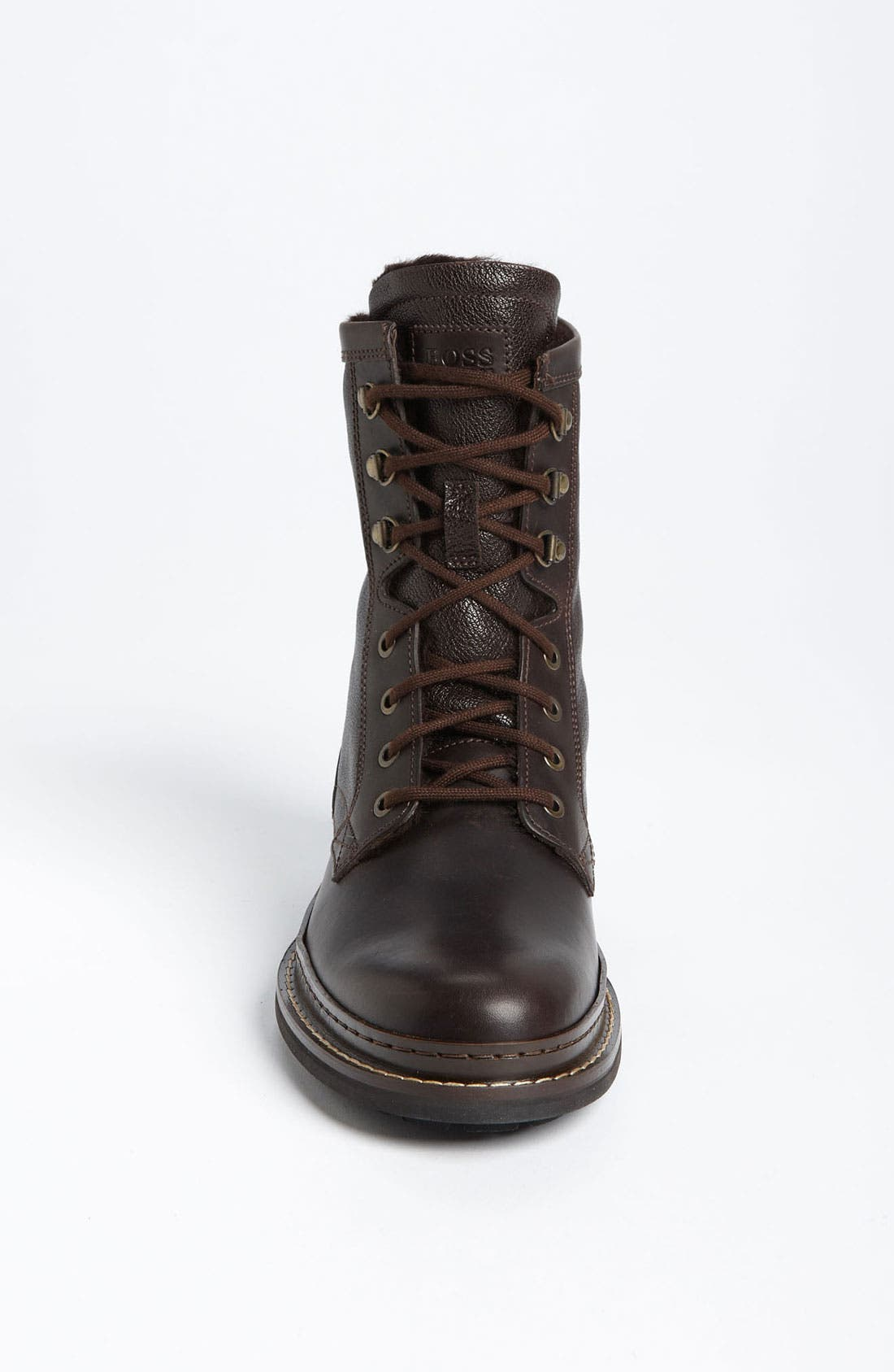 Alternate Image 4  - BOSS Black 'Russon' Plain Toe Boot