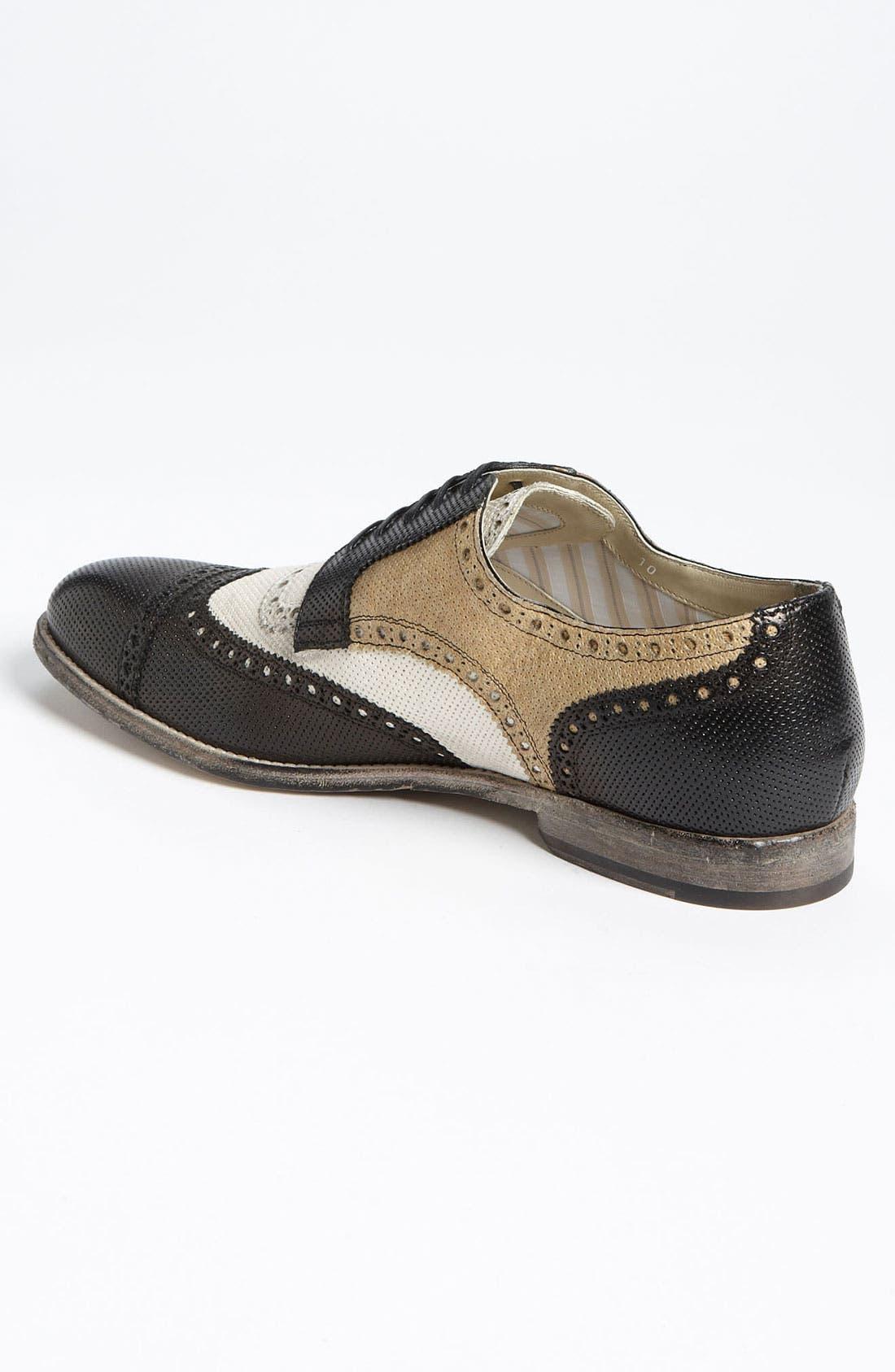 Alternate Image 2  - Dolce&Gabbana Perforated Spectator Shoe
