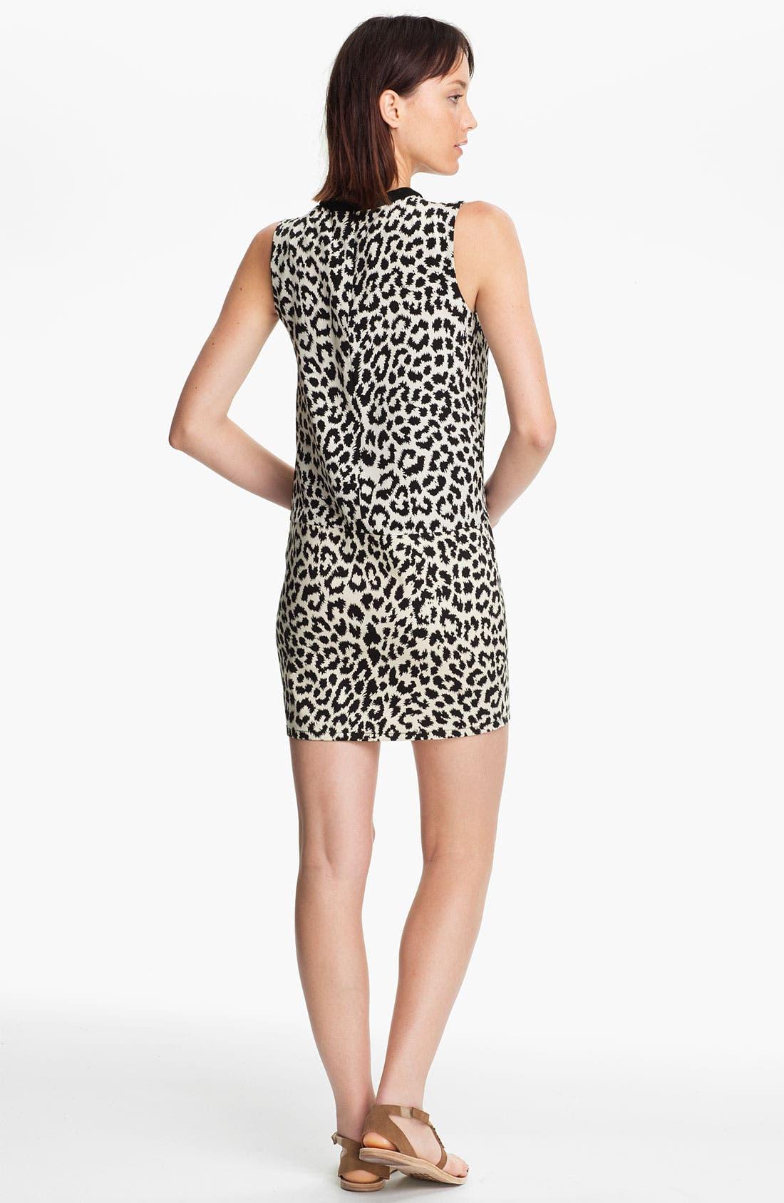 Alternate Image 2  - Thakoon Addition Leopard Print Dress