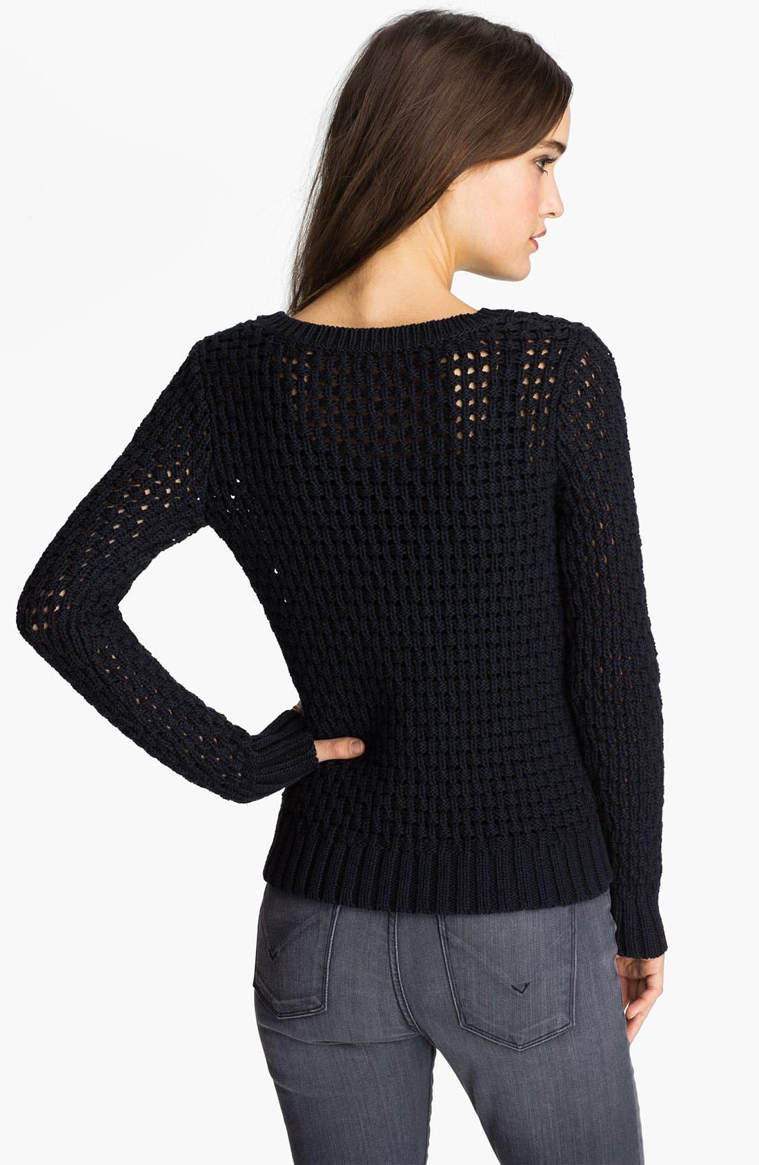 Alternate Image 2  - Hinge® Space Dye Sweater