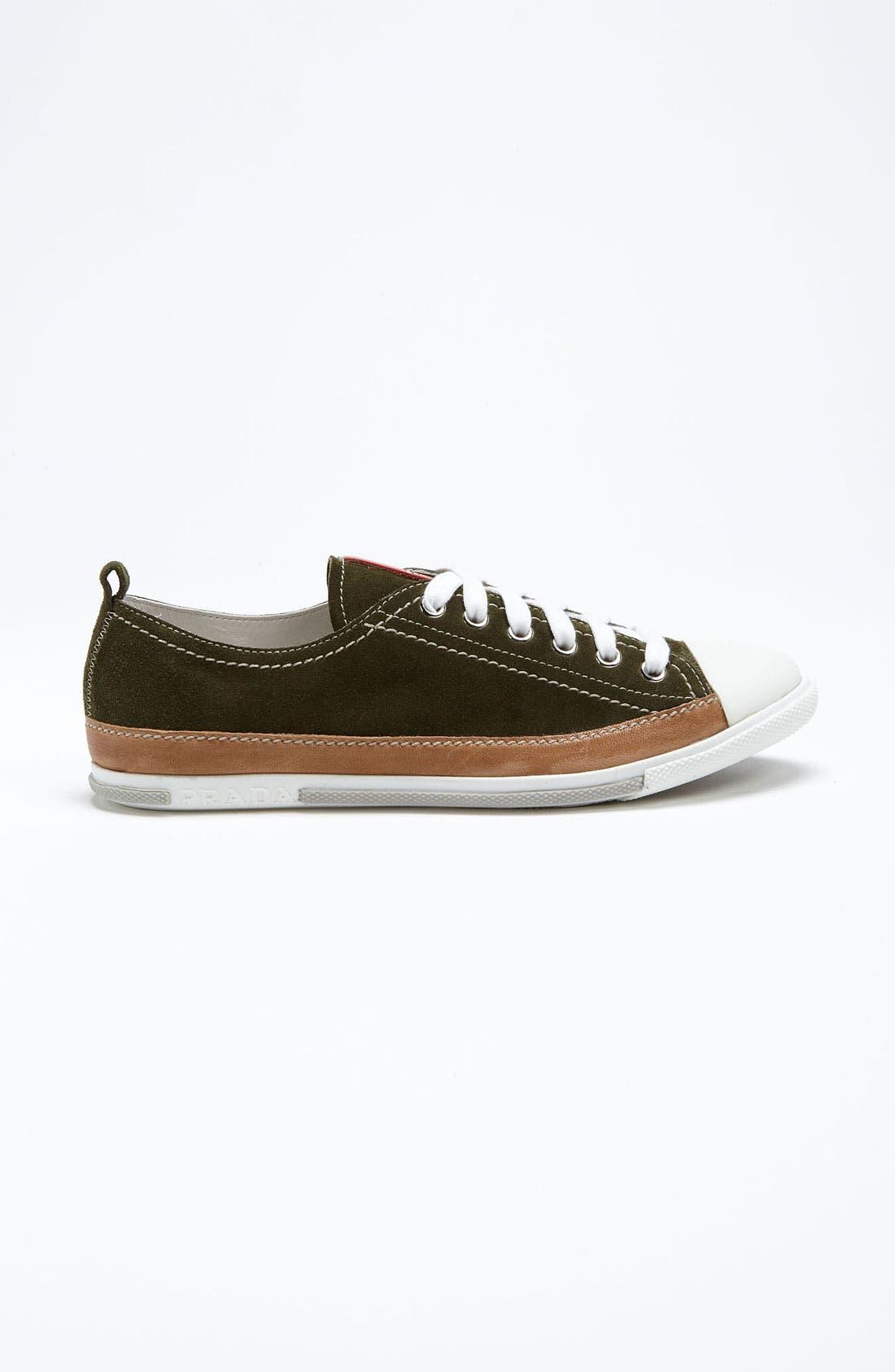 Alternate Image 4  - Prada Suede Sneaker