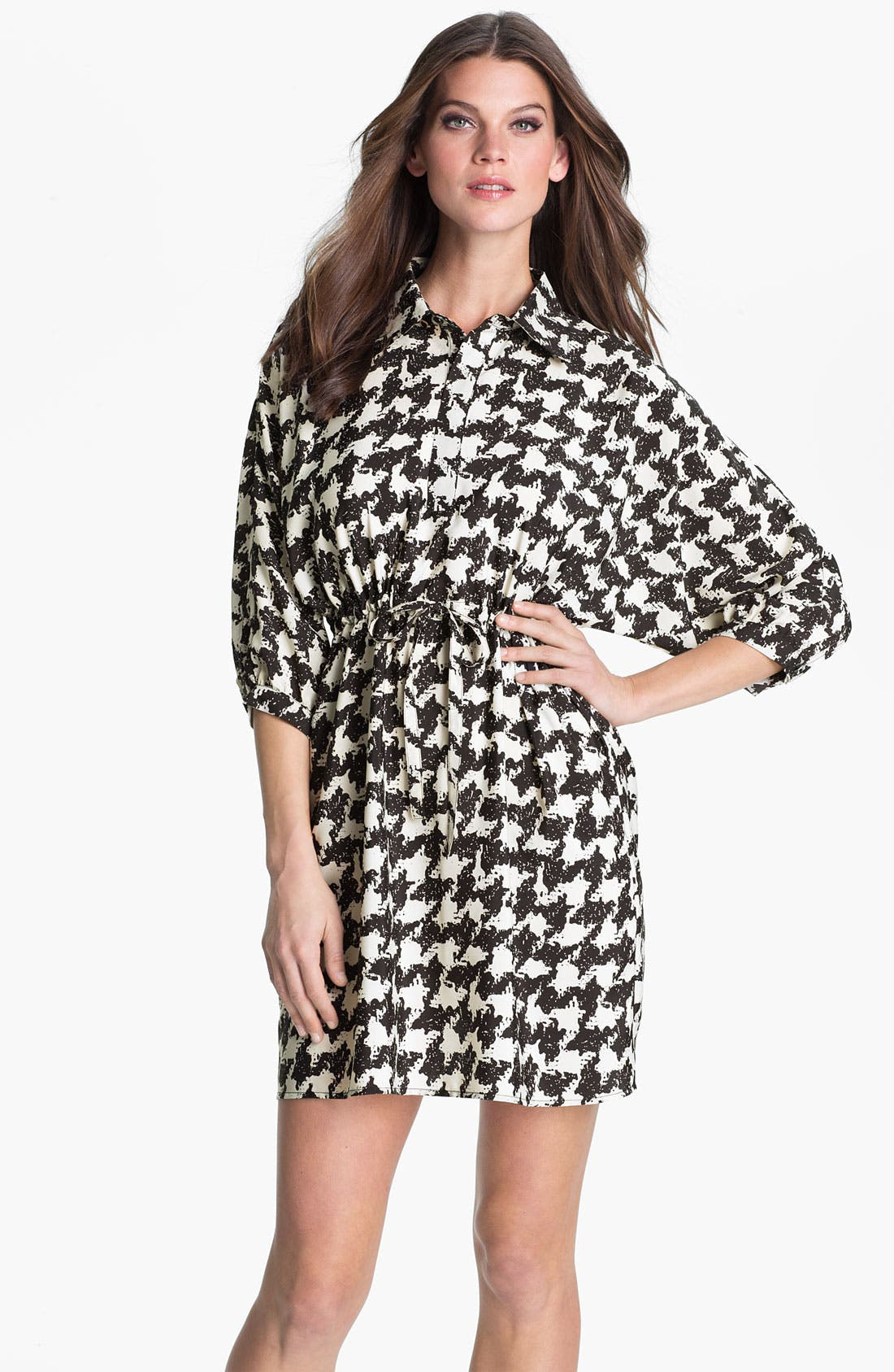 Main Image - Dora Landa Tie Waist Shirtdress