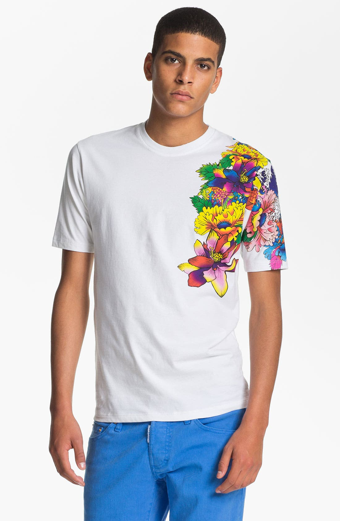 Alternate Image 1 Selected - Dsquared2 'Tattoo Sleeve' Graphic T-Shirt