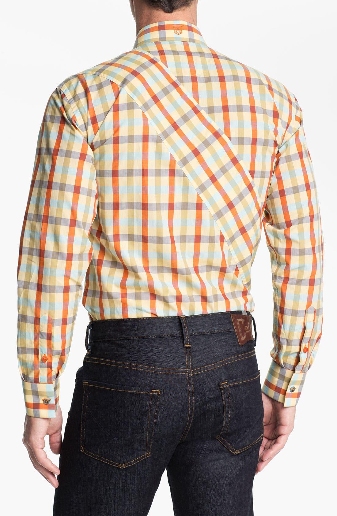 Alternate Image 3  - Bogosse 'Chain 51' Trim Fit Sport Shirt