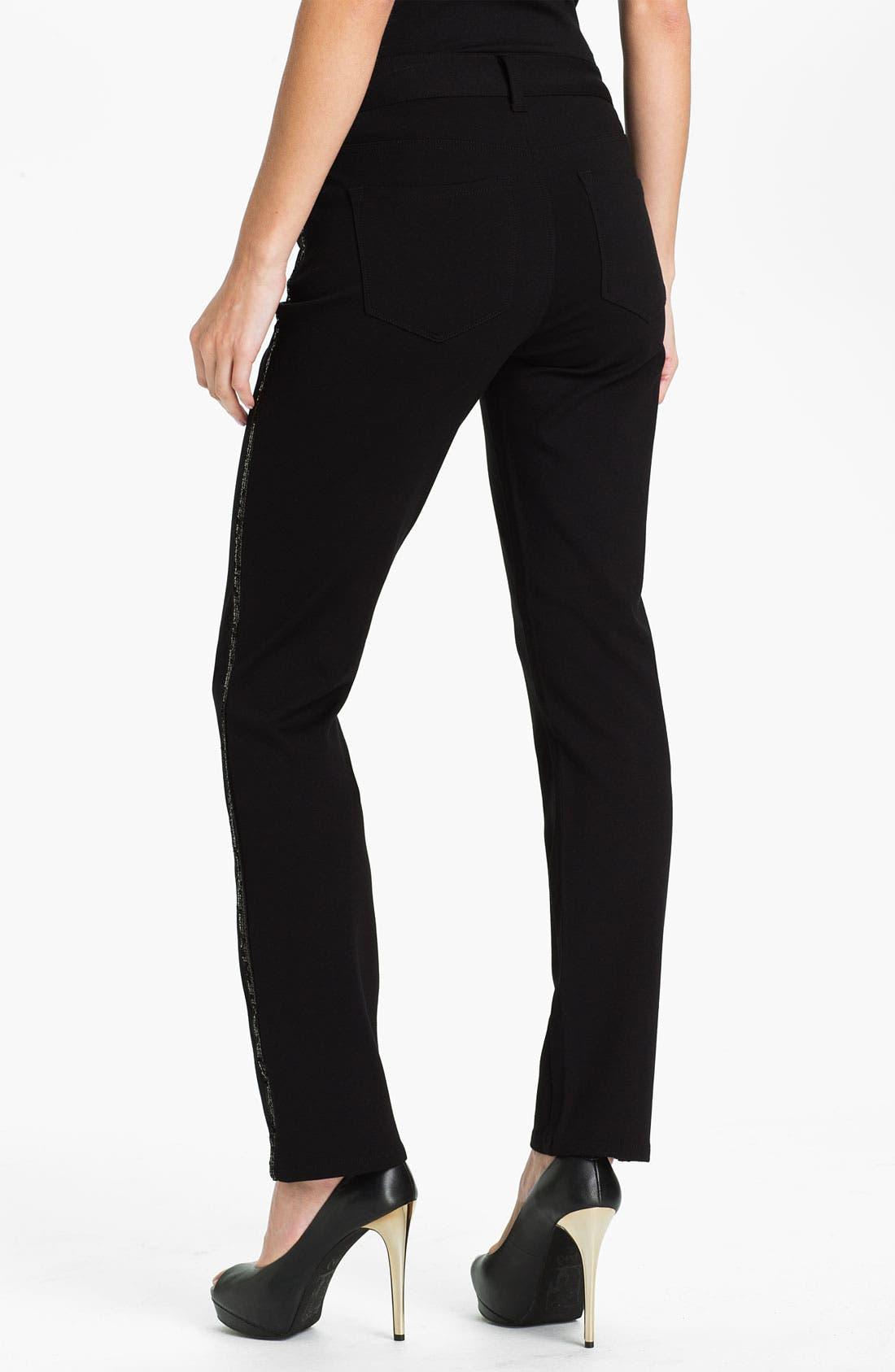 Alternate Image 2  - NYDJ 'Sheri - Tuxedo' Skinny Twill Jeans