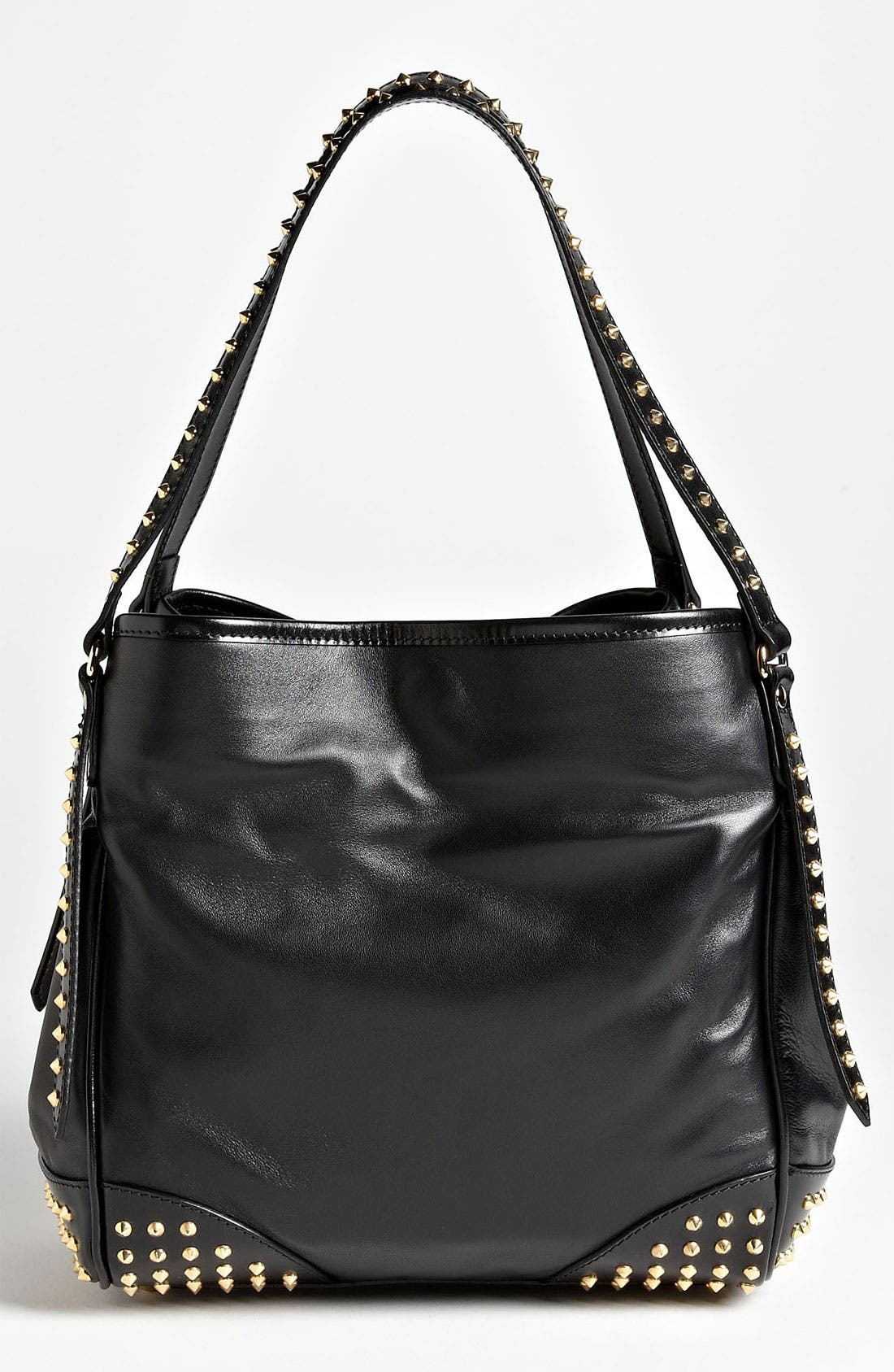 Alternate Image 4  - Burberry 'Bridle Studs' Leather Tote