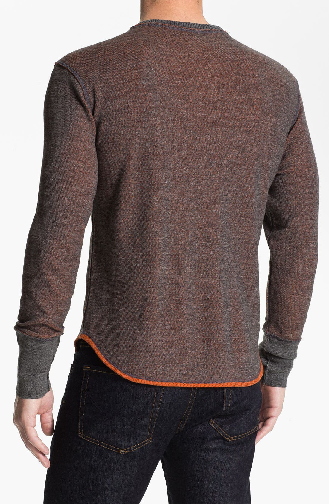 Alternate Image 2  - Robert Graham 'Chancel' Reversible Thermal T-Shirt