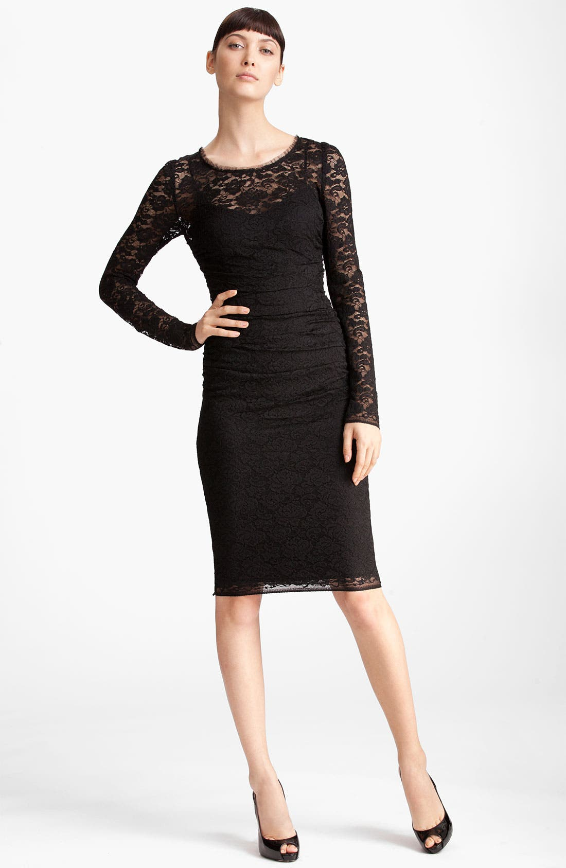 Alternate Image 1 Selected - Dolce&Gabbana Lace Dress