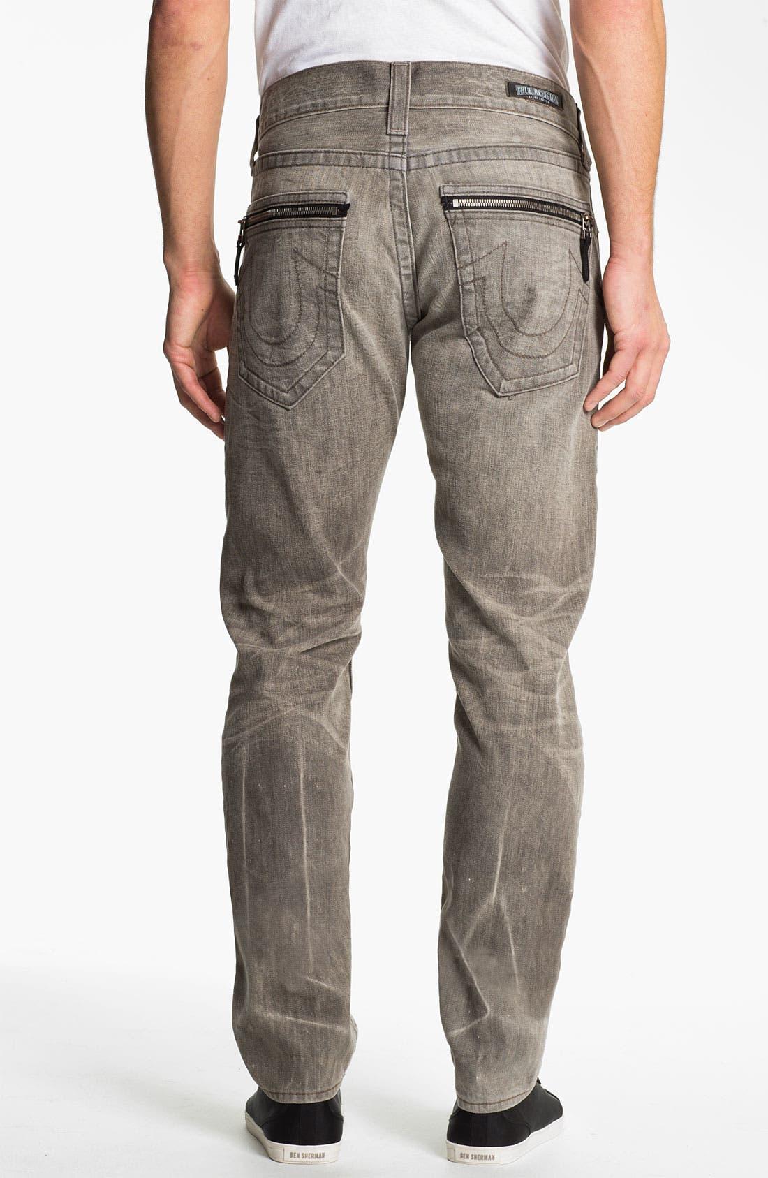 Main Image - True Religion Brand Jeans 'Rocco' Slim Straight Leg Jeans (Ashland) (Online Exclusive)