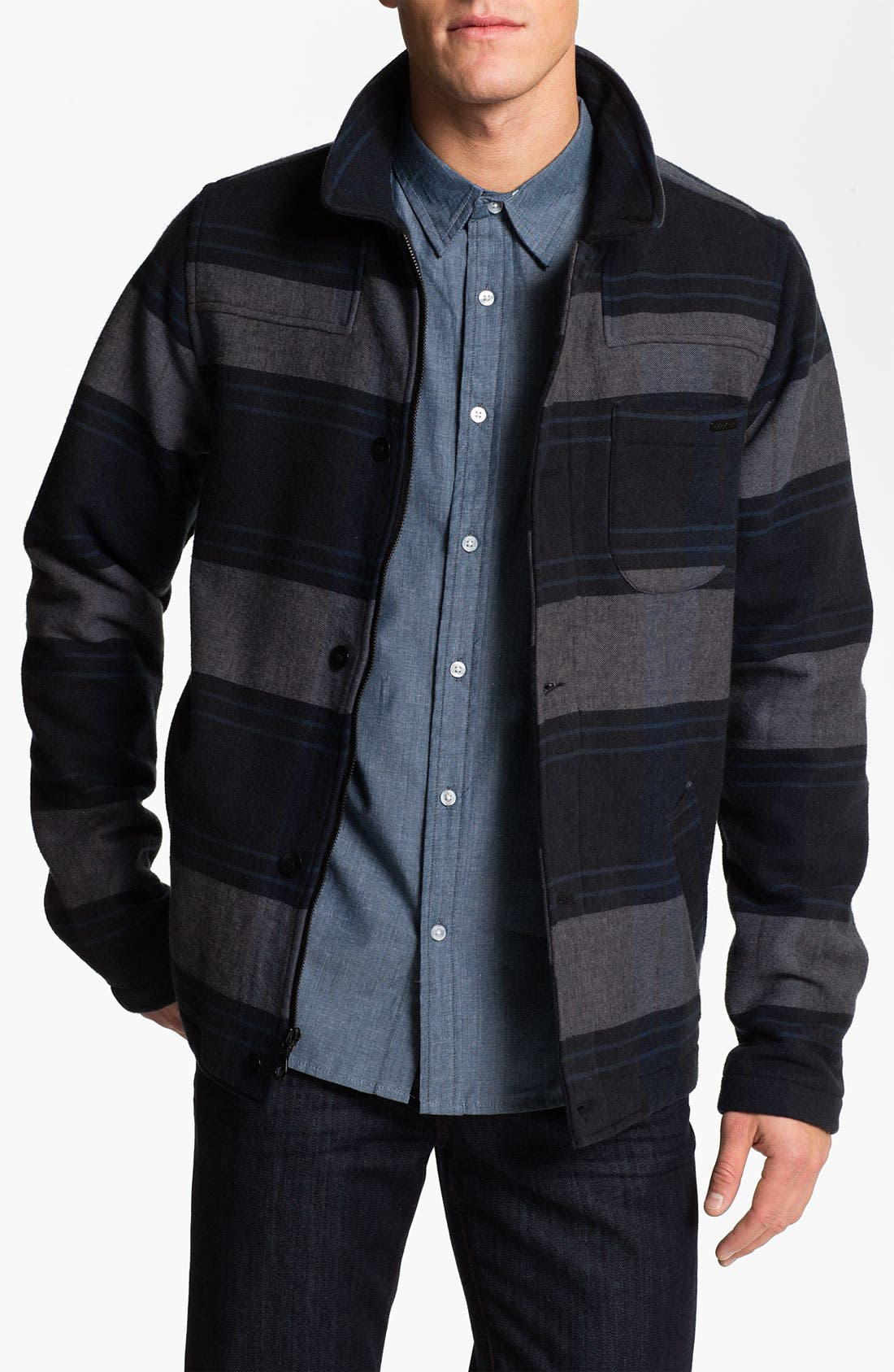 Alternate Image 1 Selected - Ezekiel 'Ellis' Stripe Jacket