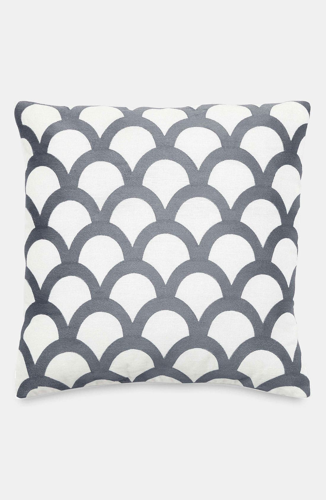 Alternate Image 1 Selected - kate spade new york 'embroidered scallops' pillow
