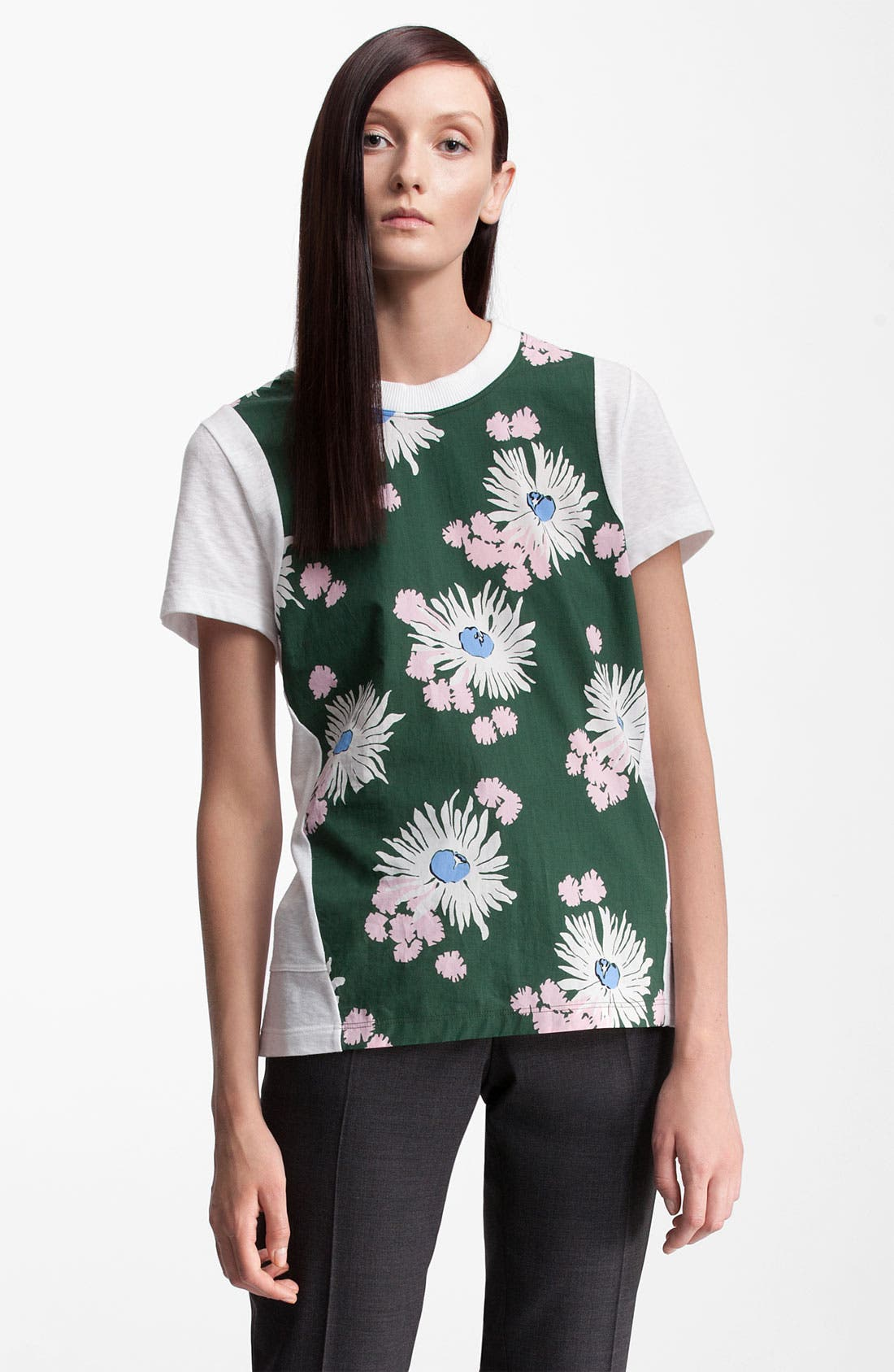 Alternate Image 1 Selected - Marni Floral Print Tee