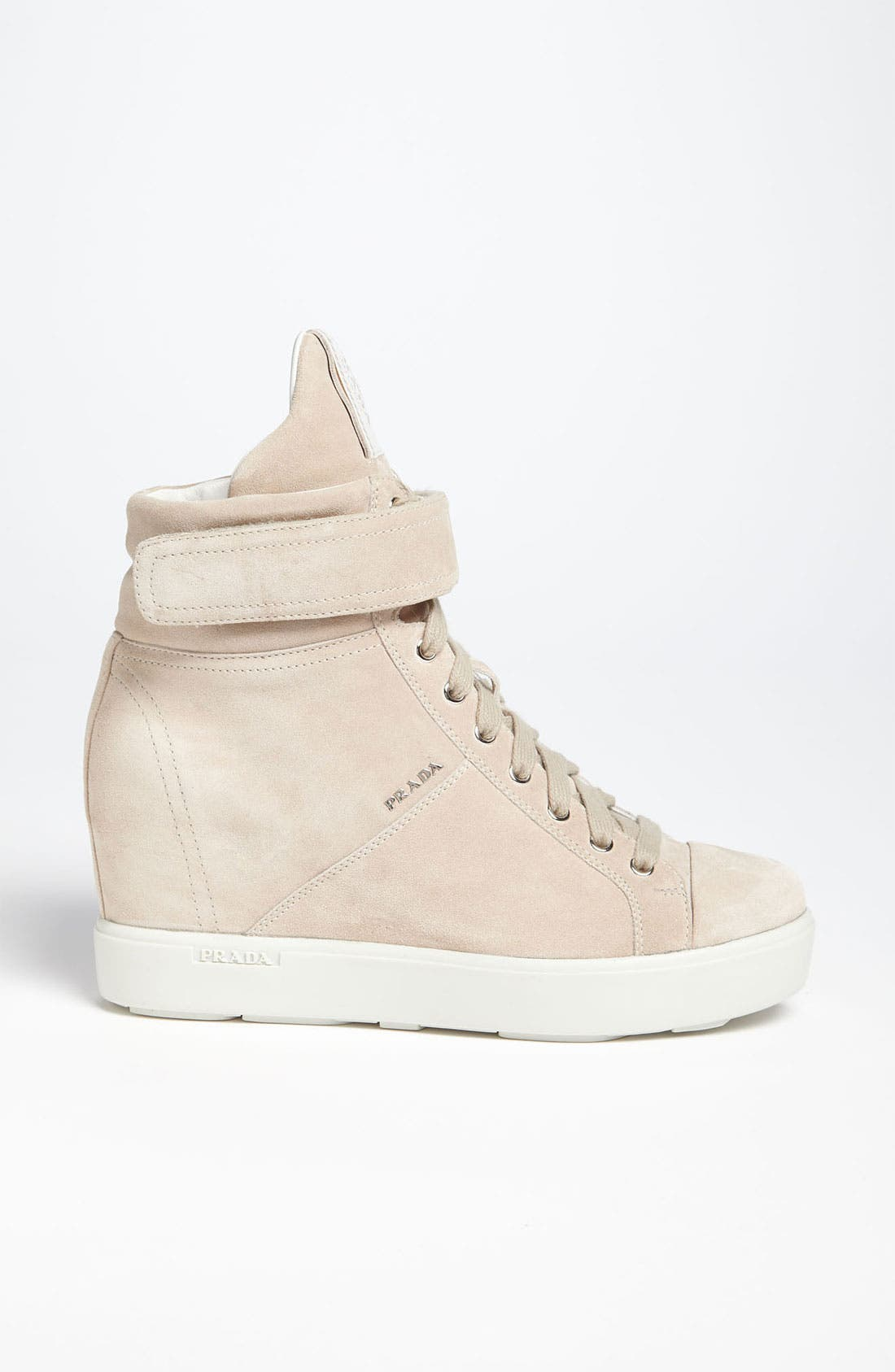 Alternate Image 4  - Prada Wedge Sneaker