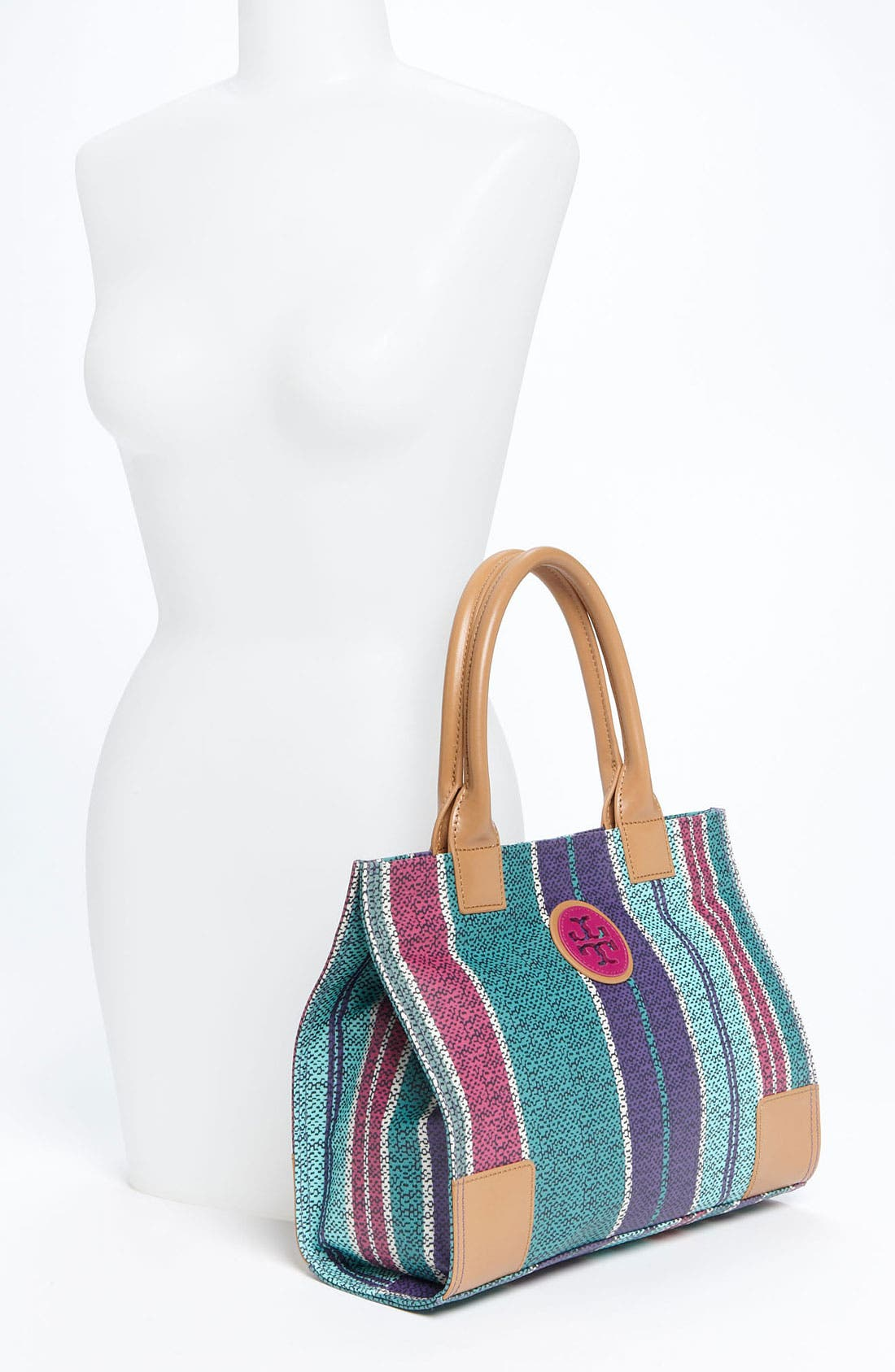 Alternate Image 2  - Tory Burch 'Mini' Coated Canvas Tote